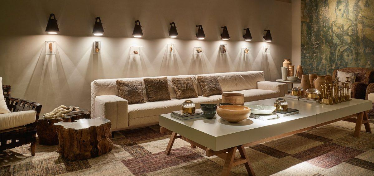 iluminação sala de estar