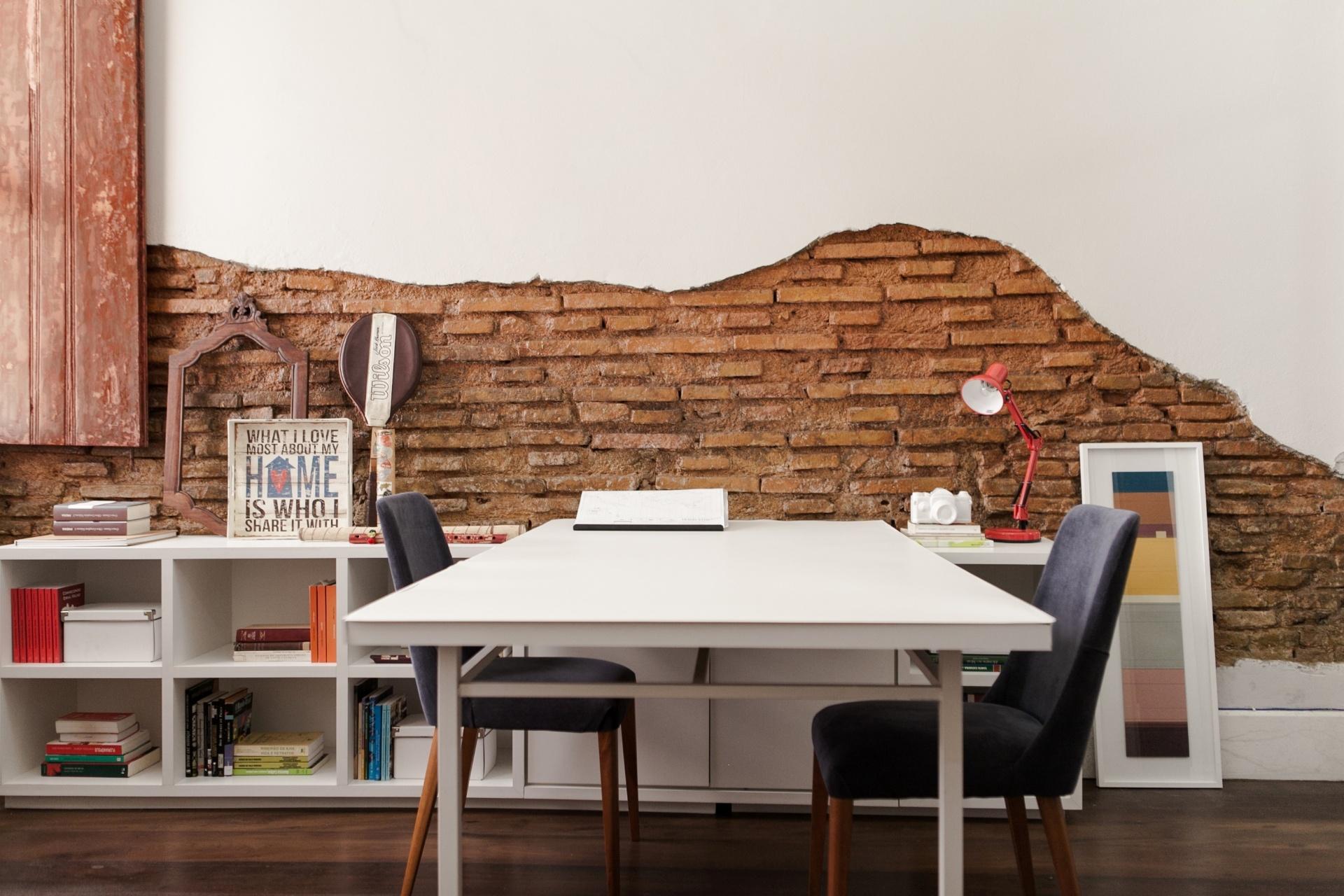 Papel De Parede Tudo O Que Voc Precisa Saber 30 Fotos  -> Papel De Parede Para Sala De Trabalho